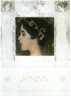 Junius, 1896 - Gustav Klimt