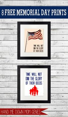 memorial day posters free