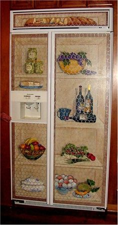 pictures of painted refrigerators   painted refrigerator …
