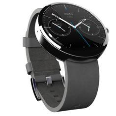 Moto 360, o smartwatch da Motorola.