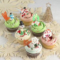 マグノリアベーカリー、クリスマスカップケーキ&イチゴをたっぷりと使用した限定スイーツ登場