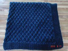 Mitricot: Baby Blanket