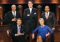 "Meet the ""Sharks"" from ABC's Shark Tank - one of our favorite shows!!  Watch it on Fridays on KXLY 4."