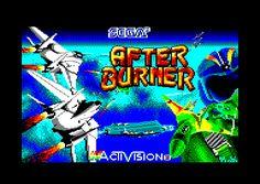 Afterburner Loading Screen Amstrad