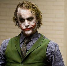 Joker Ledger, Heath Ledger Joker Quotes, Joker Heath, Nightwing, Batgirl, Dark Knight Quotes, Joker Dark Knight, Old Joker, Joker Art