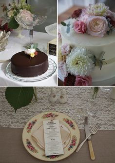 Floral Stylist :Cake flowers,( image by Robert Trathen)