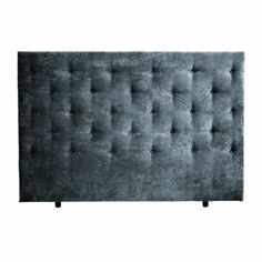 Mayfair Sengegavl med Knapper - 180cm - Midnight Love Seat, Ottoman, Couch, Chair, Furniture, Home Decor, Settee, Decoration Home, Sofa
