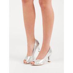 Lodičky s otvorenou špičkou Vinceza Kitten Heels, Shoes, Fashion, Moda, Zapatos, Shoes Outlet, Fashion Styles, Fasion, Footwear