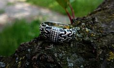 (Anello Draupnir) Viking anello scandinavo norrena Viking gioielli in argento Sterling di Odino