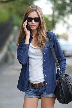Street Style: New York Fashion Week Street Style Spring 2014 #teachmefashion