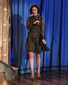 """Keira Knightley - Celebrities Visit """"Late Night With Jimmy Fallon"""" - May 10, 2011"""