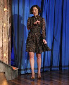 Keira Knightley Print Dress - Keira Knightley Looks - StyleBistro