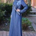 Yeni sezon Myr Kapşonlu kot elbise modeli