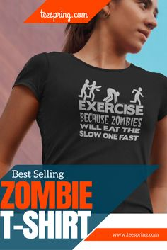 Be ready for the Zombie Apocalypse with this great tee! High Quality Design…