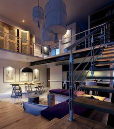 "homedesigning: ""(via Lofted Luxury) """