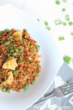 non fride rice mit gemüse udn reis, all in one, thermomix rezept Vegetable Rice, Yummy Mummy, One Pot Pasta, Mixed Vegetables, Pampered Chef, Fried Rice, Love Food, Meal Prep, Breakfast Recipes