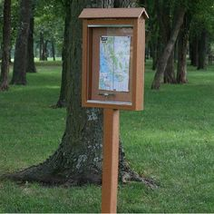 Small Outdoor Message Center by Jayhawk Plastics Side - 1 Post), 61074 Clear Plastic Sheets, Use Of Plastic, Eagle Scout Project Ideas, Recycled Plastic Furniture, Plastic Industry, Farm Stand, Outdoor Classroom, Wood Slats, Outdoor Christmas