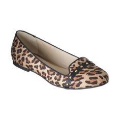 Women's Mossimo Supply Co. Voneta Studded Tuxedo Flat - Leopard
