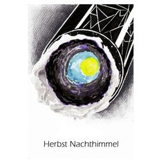 """learn drawing by water colour """"herbs nachthimmel"""""""