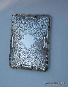 Vintage Silver, Antique Silver, Vintage Cigarette Case, Silver Napkin Rings, Work Pictures, Lipstick Case, Antique Boxes, Boudoir, Gold Box