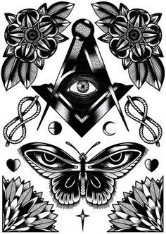 GRIFFE TATTOO: Desenhos com estilo único feito por Tom Gilmour