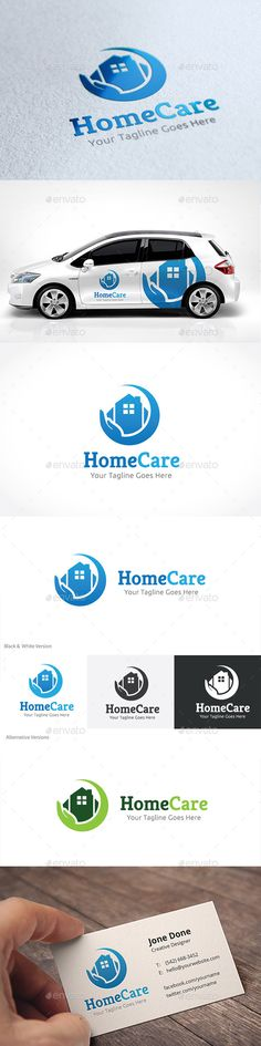 Home Care Logo Template #design #logotype Download: http://graphicriver.net/item/home-care/11156120?ref=ksioks