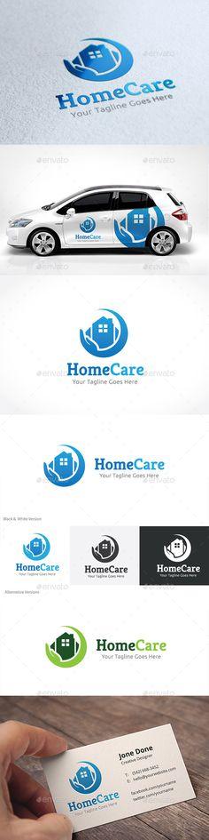 Home Care Logo Template #design #logotype Download: http://graphicriver.net/item/home-care/11156120?ref=ksioks