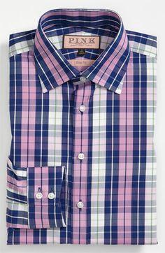 Thomas Pink Slim Fit Dress Shirt | Nordstrom