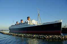 Stay on the RMS Queen Mary, Long Beach, California - Bucket List Dream from TripBucket