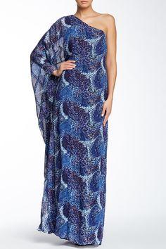 Heather One Shoulder Silk Maxi Dress by Rachel Zoe on @nordstrom_rack
