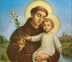 α JESUS NUESTRO SALVADOR Ω: Festividad de San Antonio de Padua. Presbítero y D...