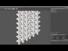 Goyard Pattern Structure Making in Cinema 4d R16 Tutorial - YouTube