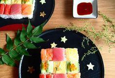 Kulinářský hit z Japonska – mozaikové sushi