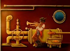 Trumpeter by CalebAHamm.deviantart.com on @DeviantArt