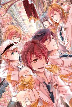 Anime guys from uta no prince sama
