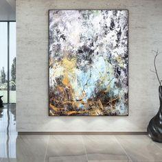 Original Abstract Painting Extra Large Wall Art Original Oil image 1