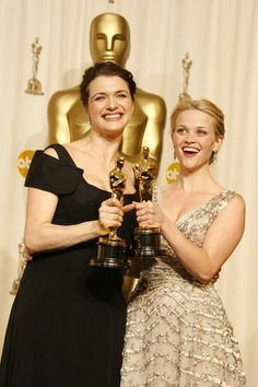 77th Academy Awards took place on February 27, 2005 - Rachel Weisz (Best Performance by an Actress in a Supporting Role, The Constant Gardener (2005) and Reese Witherspoon (Best Performance by an Actress in a Leading Role, Walk the Line (2005)