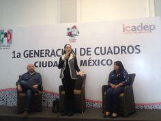#1GECCDMC #ECCDMX #MujeresDeLaCDMX conferencia magistral Hanna De La Madrid