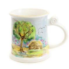 $18.00 Handmade Gift Mug http://catalog.obitel-minsk.com/km-107-1-1-2-gift-mug.html #teapot #pottery #ceramic #handmade #purchase #order #customize #flowers #deliver #worldwide #shipping #cup #plate #sugar bowl #unique #glaze #mugs #unique #tea set #handpainted #purchase #buy #gift #souvenir #present #christmas #crafts #tea #overglaze #quality