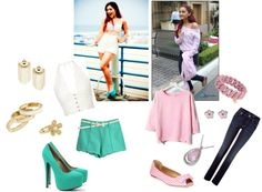 ariana grande style vs my style., created by jazmin2096 on Polyvore