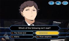 """An Oikawa version!     (i bet he'll chose anything but""""alien"""" since he firmly believes in their existence)Kageyama version   ➡  here!"""