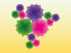 Colorful Spring vector free