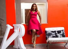 """Dakore Akande for #VRbyMobos Screen diva Dakore Akande has emerged the Brand Ambassador for the renowned Nigerian womenswear brand Victoria Roberts ( VR by Mobos) of Mobosfashion.  The collection is inspired by the colors of summer and """"Going Green"""". The collection features florals cactus and other bold and vibrant prints. it also features styles that are easy and comfortable for the everyday stylish diva.  See more photos here http://ift.tt/1xRzTNo  #Olorisupergal  #OSG by olorisupergal"""
