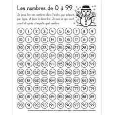 les nombres en francais pdf