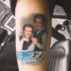 Step Brothers tattoo by Mike DeVries