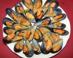 Mejillones al Jerez Salsa Verde, Omega 3, Eggplant, Tapas, Zucchini, Food And Drink, Cooking Recipes, Vegetables, Ethnic Recipes