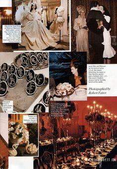 The Alchemical Wedding of Marilyn Manson & Dita Von Teese - The NACHTKABARETT
