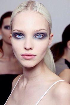 Dramatic beauty makeup inspiration