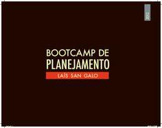 Book - Bootcamp Planejamento l Lais San Galo by Lais Galo via slideshare