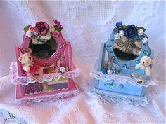 Little Jewelry Dressers - Scrapbook.com